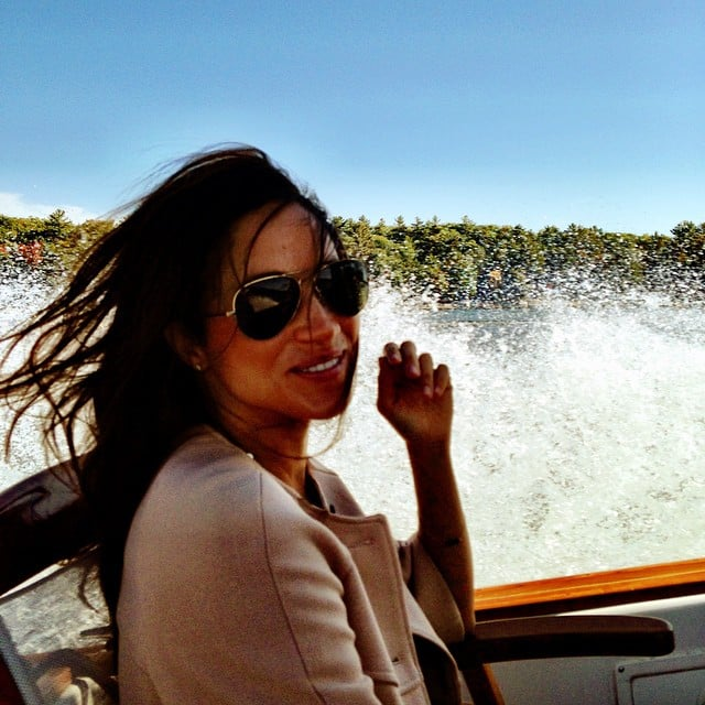 Suits Star Meghan Markle Celebrated The Weekend On A Boat