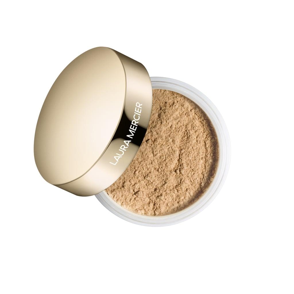 Laura Mercier Light Catcher Translucent Loose Setting Powder in Honey Star