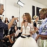 Jay Manuel, Laura, and Alisha on America's Next Top Model.  Photo courtesy of The CW