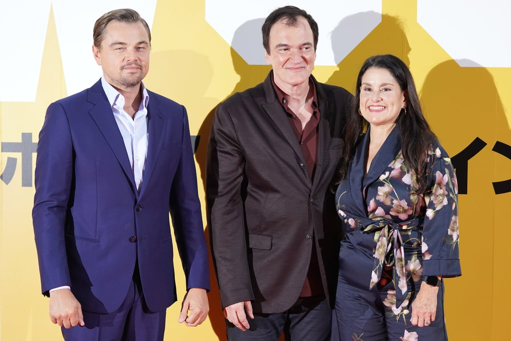 Leonardo DiCaprio, Quentin Tarantino, and Shannon McIntosh at the Tokyo premiere of Once Upon a Time in Hollywood.