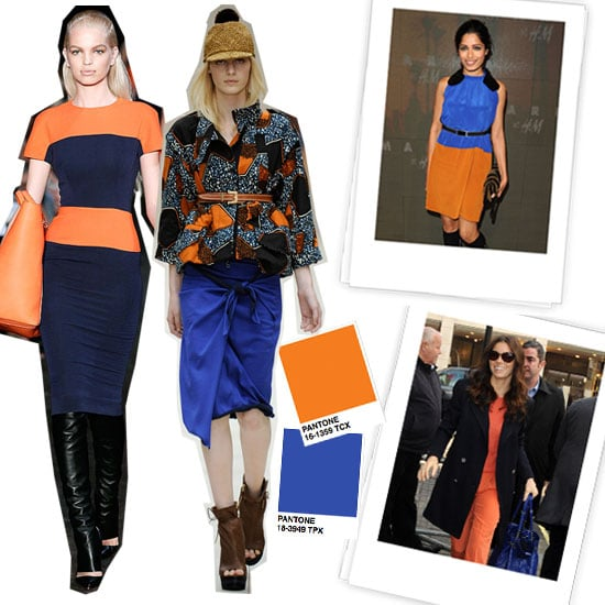 Go Bold With Our Latest Color Combo Crush — Orange and Blue