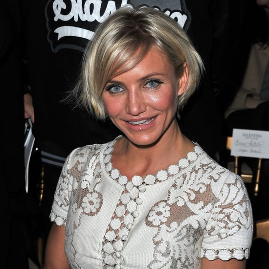 Cameron Diaz Valentino Show Pictures Paris Fashion Week