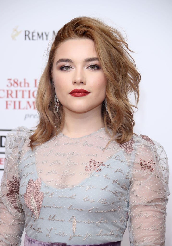 Florence Pugh as Amy March