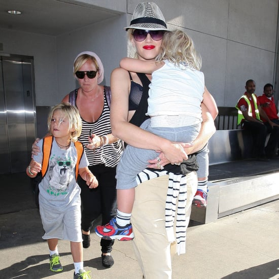 Gwen Stefani at LAX With Her Sons | Pictures