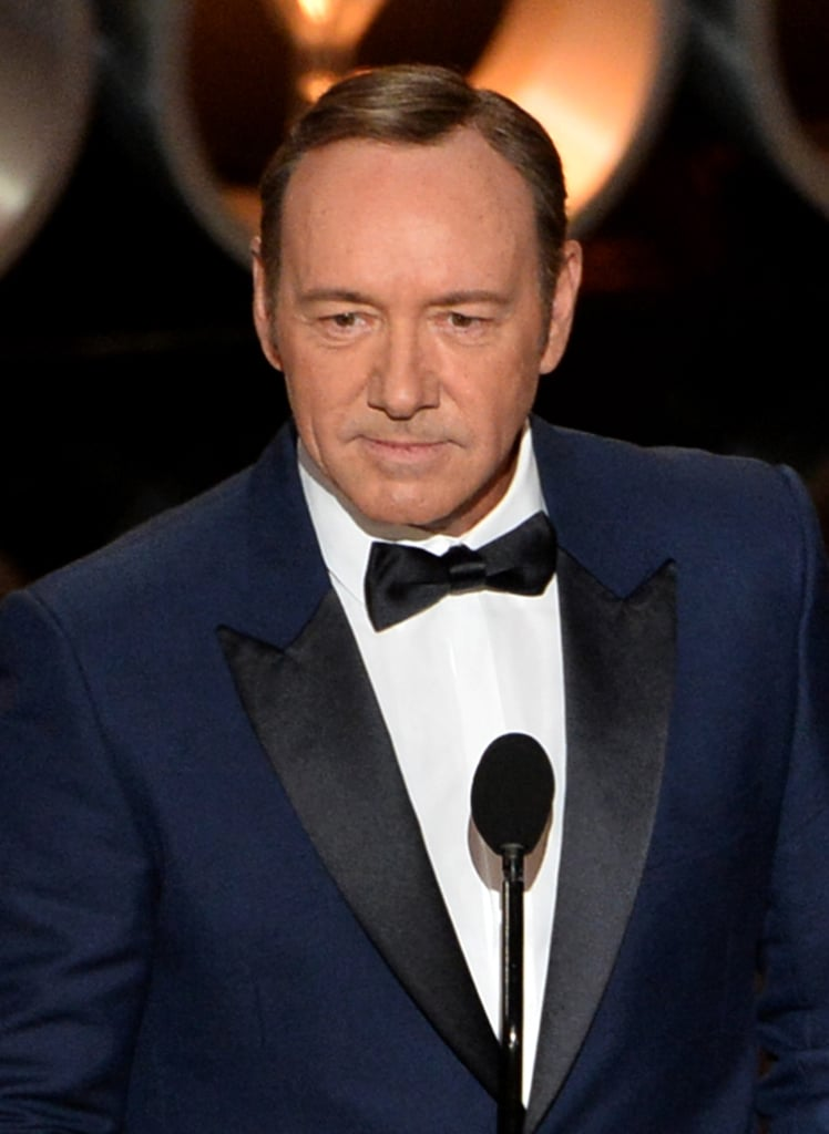 Kevin Spacey presented.