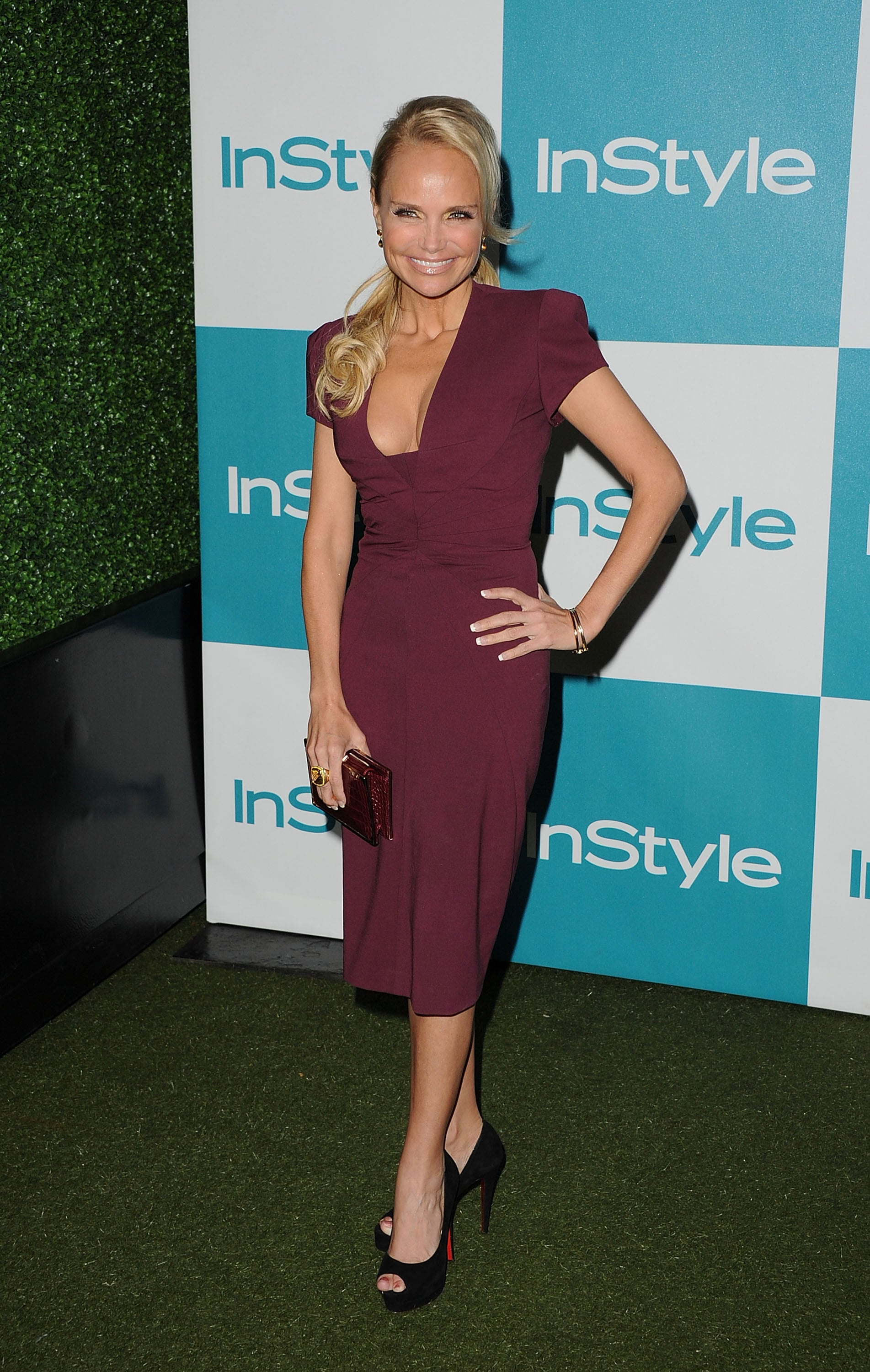 Kristin Chenoweth at the 10th annual InStyle Summer soiree.