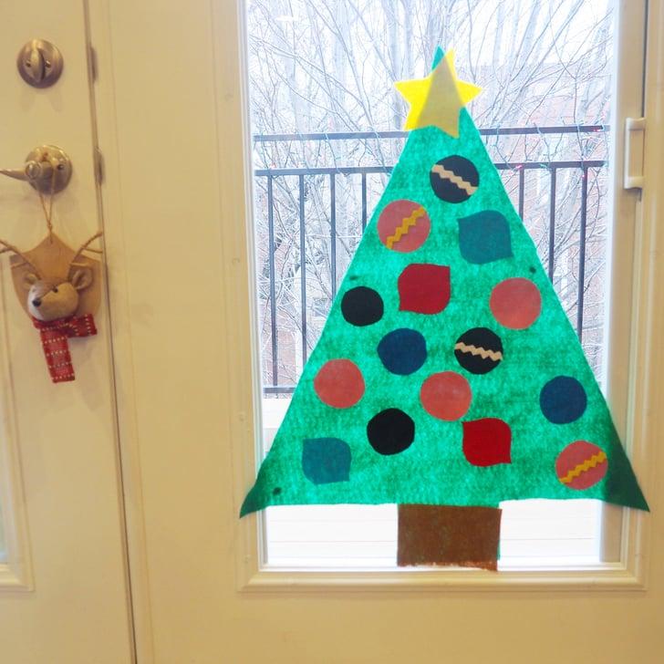 Felt Christmas Trees For Kids That Are Easy To Make Popsugar Family