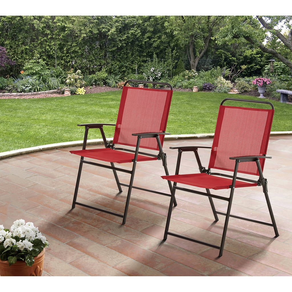 Mainstays Pleasant Grove Sling Folding Chairs