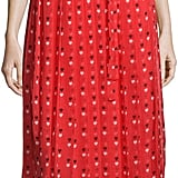 Christopher Kane Sleeveless Heart-Print Midi Dress, Red ($1,295)