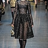 Review and Pictures of Dolce & Gabbana Autumn Winter 2012 Milan Fashion Week Runway Show