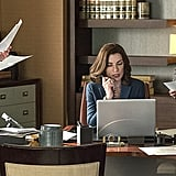 The Good Wife Julianna Margulies on The Good Wife.