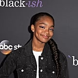 Marsai Martin's Long Braid