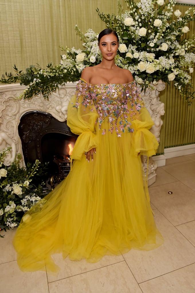 Maya Jama at the British Vogue and Tiffany & Co. Fashion and Film Party