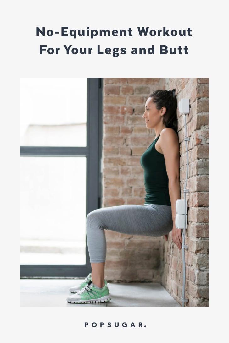 Bodyweight Leg Workout | POPSUGAR Fitness