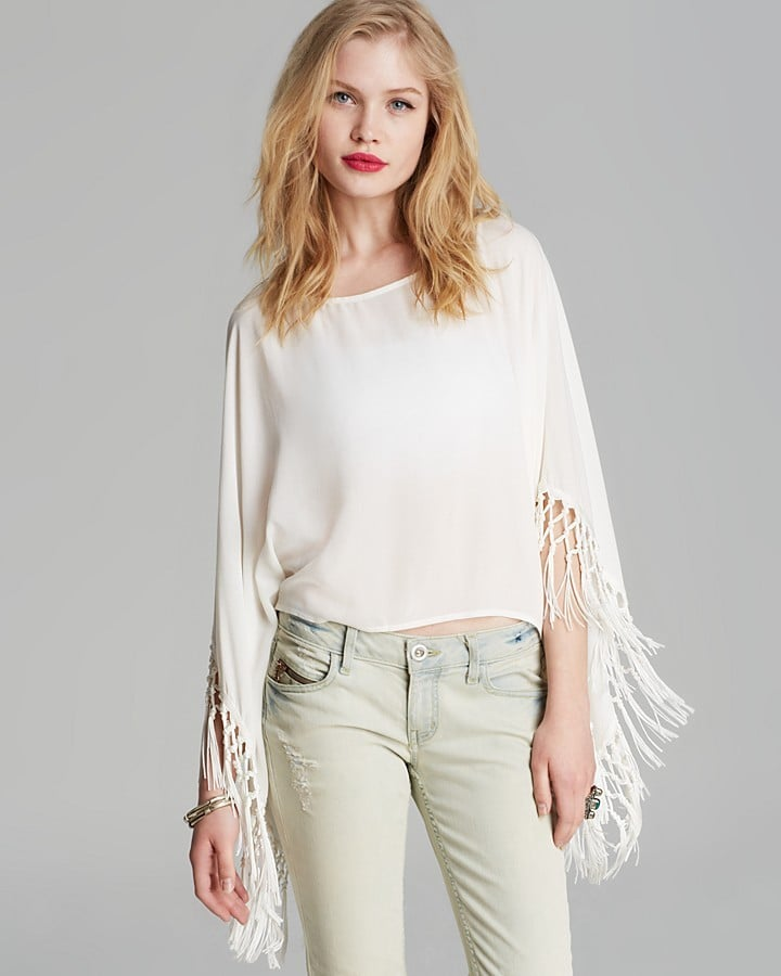 Alythea Fringed Top