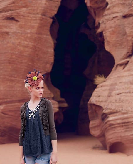 Anthropologie's Spring Exotic Catalog
