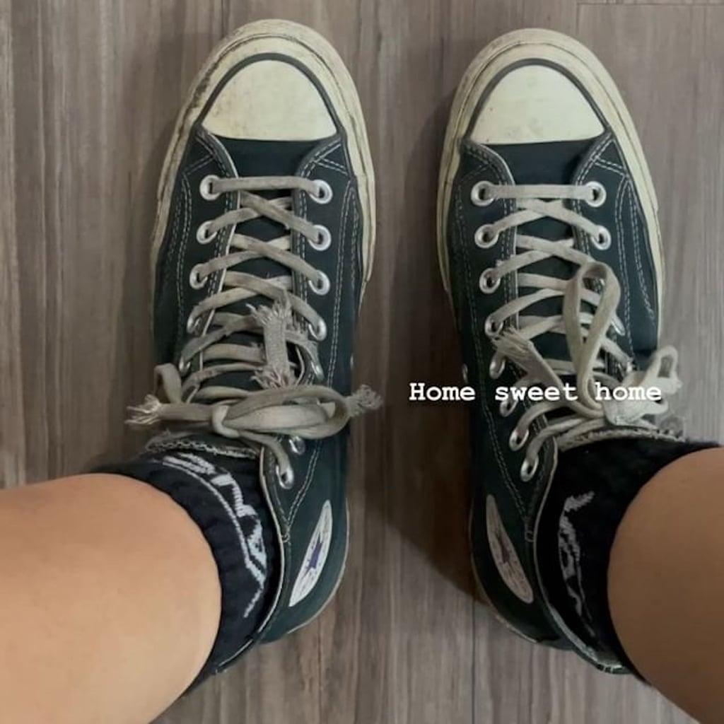 Zendaya Wears Rue's Green Converse Sneakers From Euphoria