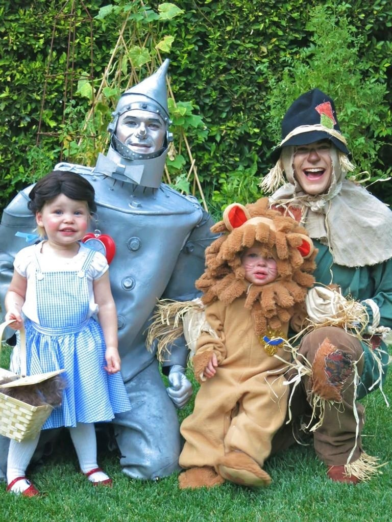 2012 — Tin Man, Scarecrow, Dorothy, and The Cowardly Lion
