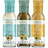 Primal Kitchen Avocado Oil 3-Pack Vinaigrette Dressing