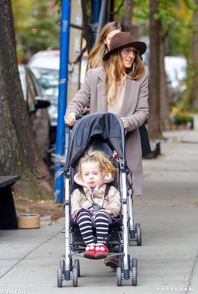 Sarah Jessica Parker was out with Tabitha Broderick.