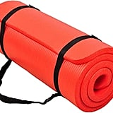 BalanceFrom GoCloud All-Purpose 1-Inch Extra Thick Yoga Mat