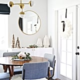 Cozy White Decor and Cotemporary Wooden Accents