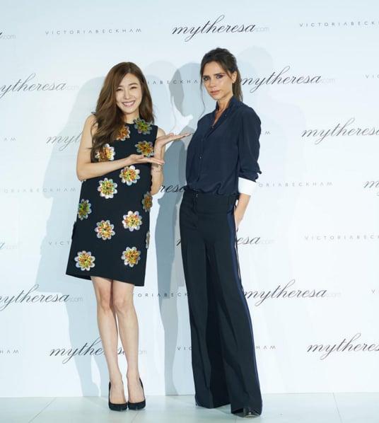 Victoria Beckham Wearing Black at Korea Press Call 2016