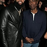 Odell Beckham Jr. and Chris Rock at the Victoria Beckham x YouTube Party