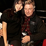 Alec Baldwin and his pregnant wife, Hilaria, caught a screening.