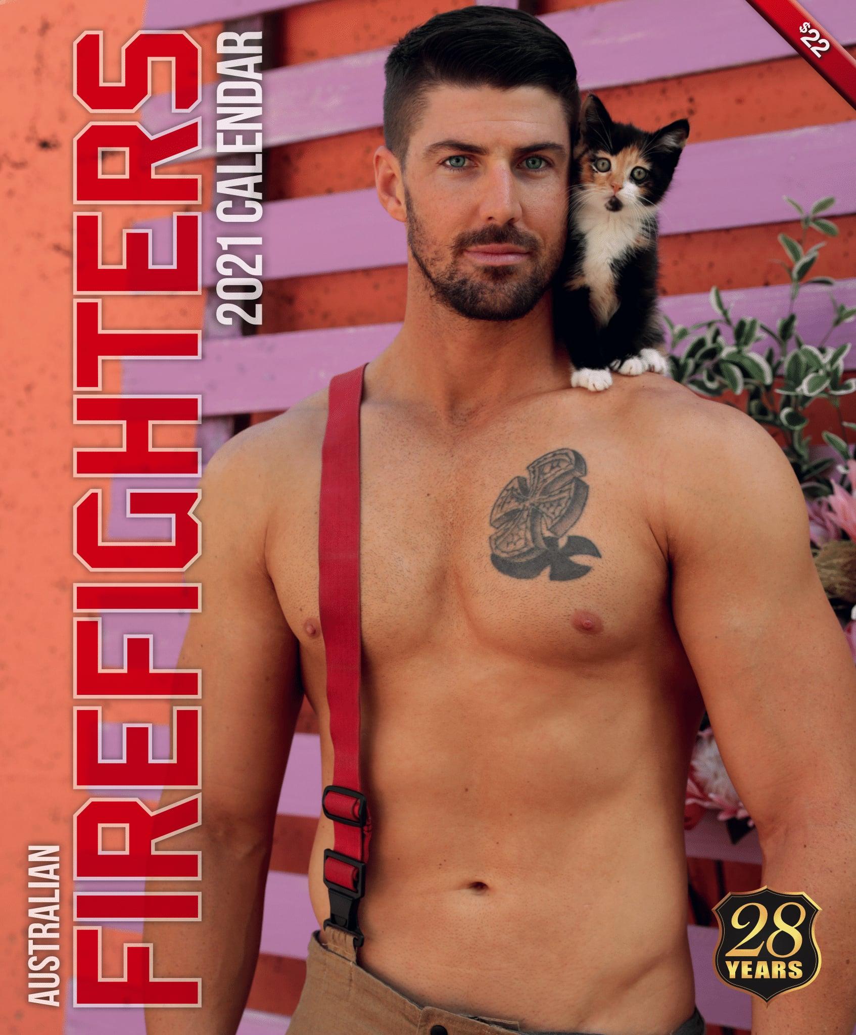 2021 Australian Firefighters /'Cat/' Wall Calendar