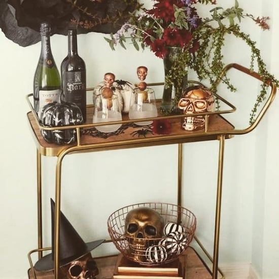 25+ Halloween Bar Cart Decorating Ideas