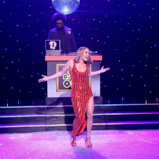 Jennifer Lopez Red David Koma Dress Jimmy Fallon May 2018