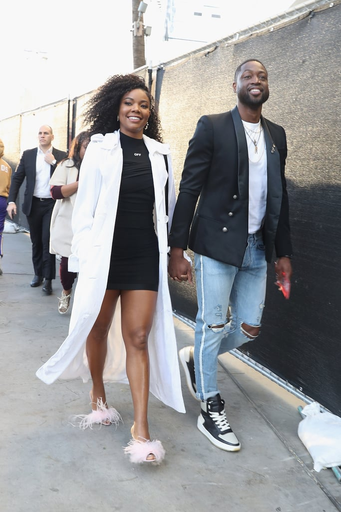 Gabrielle Union's Pink Brother Vellies Shoes