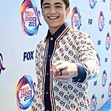 Asher Angel at the 2019 Teen Choice Awards