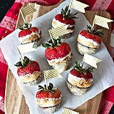 S'mores Chocolate-Covered Strawberries