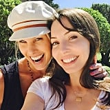 Whitney Cummings and Beth Stern shared a sunny Valentine's Day snap.