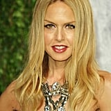 A decadent statement necklace gave Rachel Zoe's look a luxe finish.
