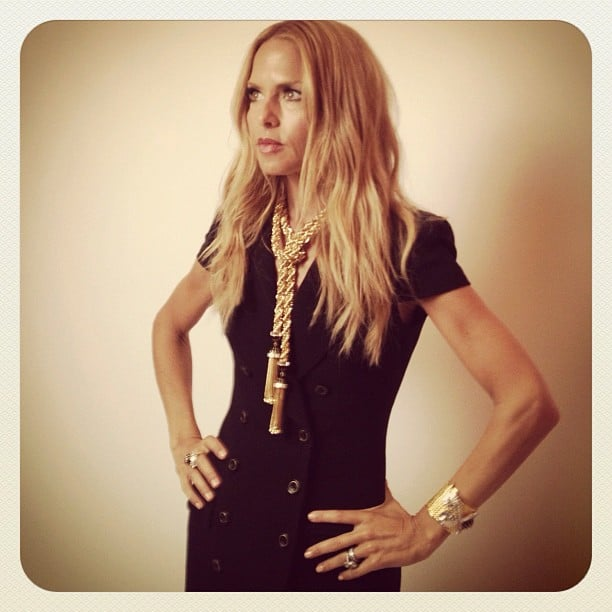 Rachel Zoe waited to speak at the Lucky FABB conference. Source: Instagram user cfda