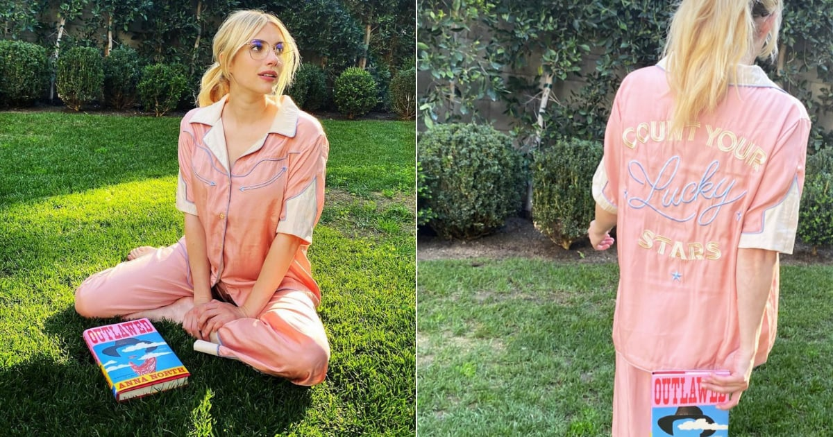 "These ""Lucky Stars"" PJs Have Been Selling Like Crazy Since Emma Roberts Wore Them.jpg"