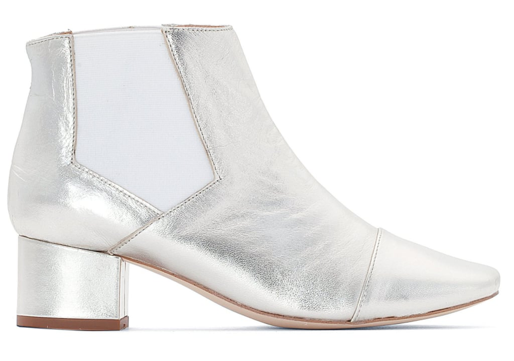 Jonak Ame Metallic Leather Ankle Boots (£135)