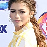 Zendaya's Extra Long Braid at the Teen Choice Awards