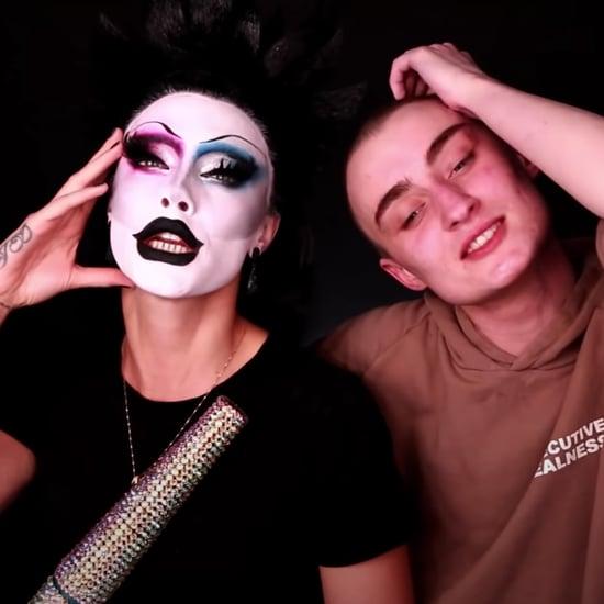 Watch Gottmik Give Cara Delevingne a Drag Queen Makeover