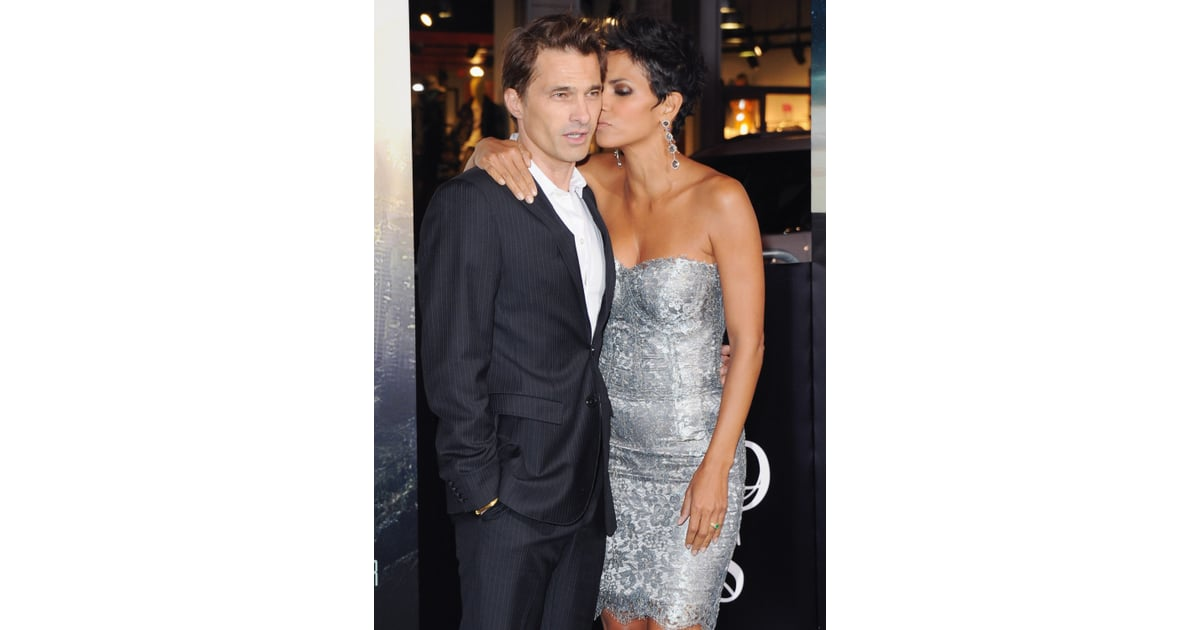In October 2012, Halle Berry gave Olivier Martinez a sweet ...
