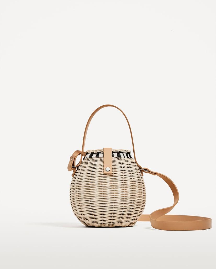 Zara Raffia Bag