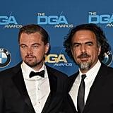 Pictured: Leonardo DiCaprio and Alejandro González Iñárritu