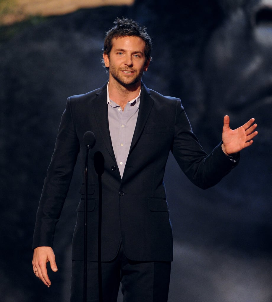 Bradley Cooper spoke onstage.