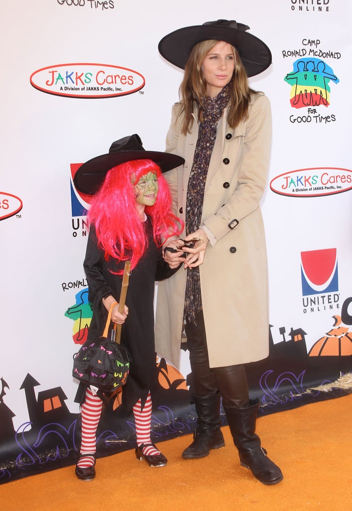 Rachel Griffiths and Daughter Adelaide Rose Taylor