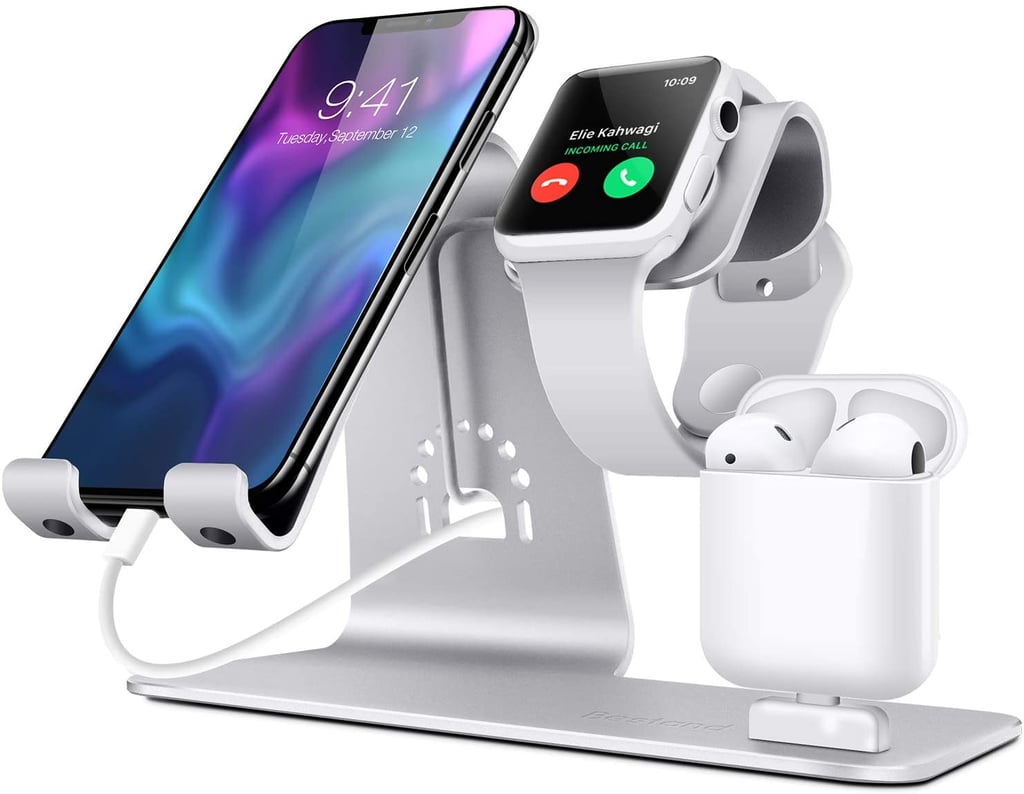 Bestand3 in 1 Apple iWatch Stand, Airpods Charger Dock, Phone Desktop Tablet Holder