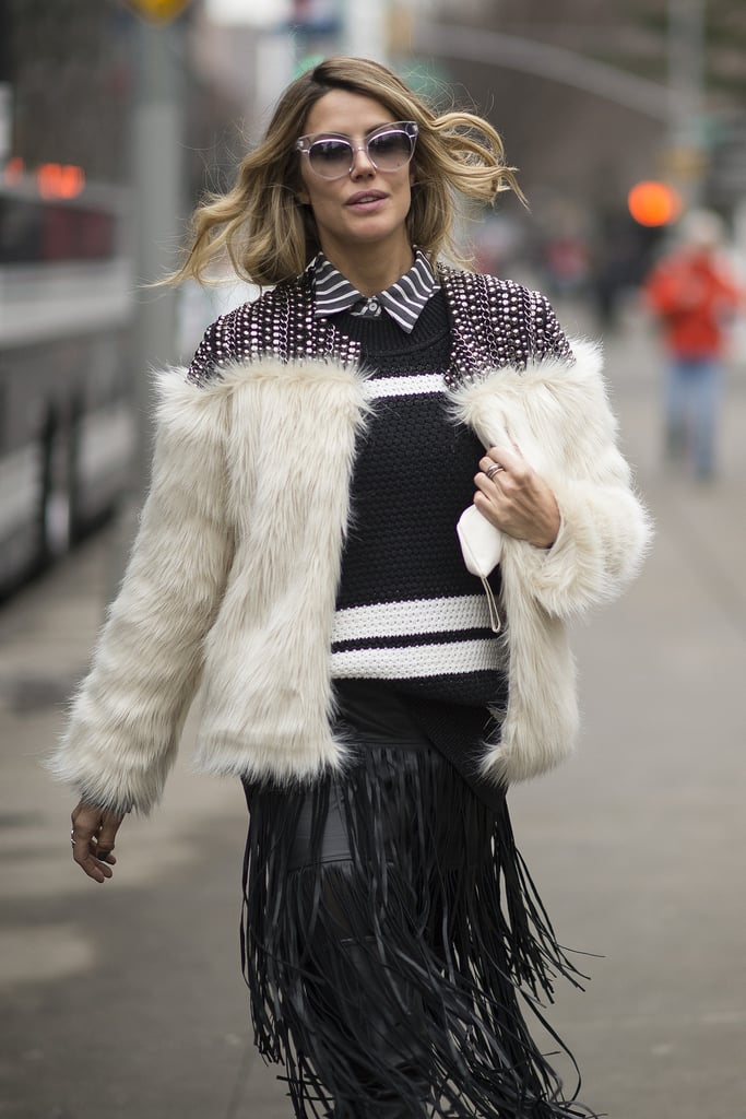The Most OMG Coats From the Streets of NYFW