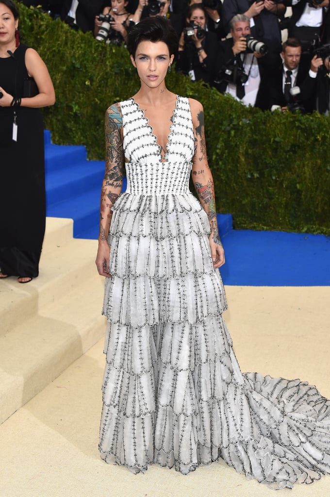 Image result for Ruby Rose Met Gala 2017